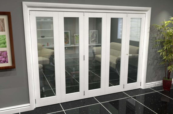 White P10 Roomfold Grande (4 + 1 X 533mm Doors)