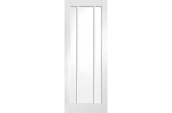 Worcester White Glazed Door