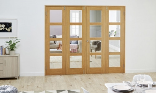 Folding French Doors