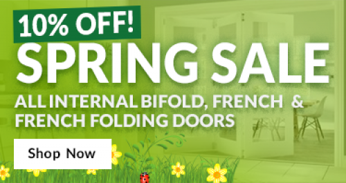 10% Off All Internal Bifold, French & French Folding Doors Image