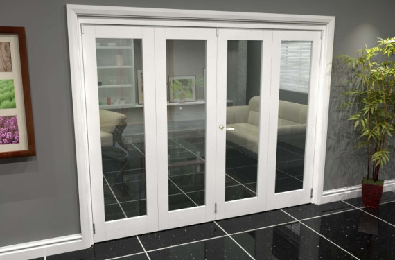 White P10 Roomfold Grande (2 + 2 X 610mm Doors)