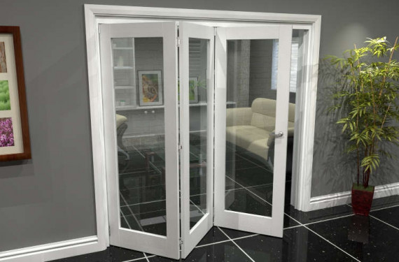White P10 Roomfold Grande (3 + 0 X 686mm Doors)