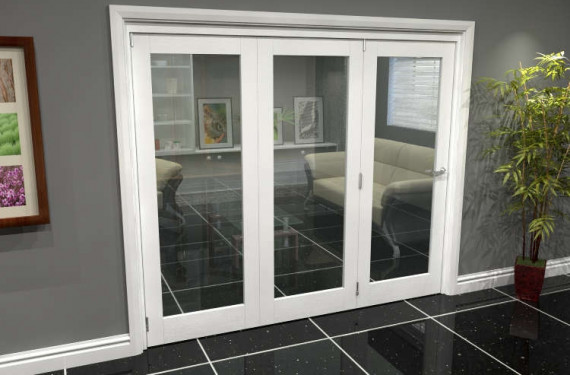White P10 Roomfold Grande (3 + 0 X 762mm Doors)