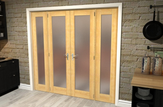 Obscure Oak French Door Set  - 21