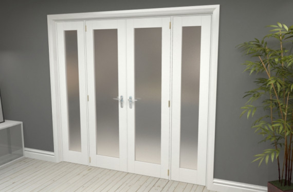 Obscure White French Door Set  - 21
