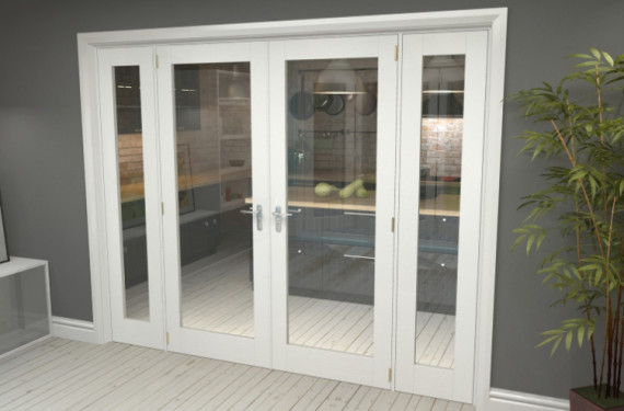 P10 White French Door Set  - 30