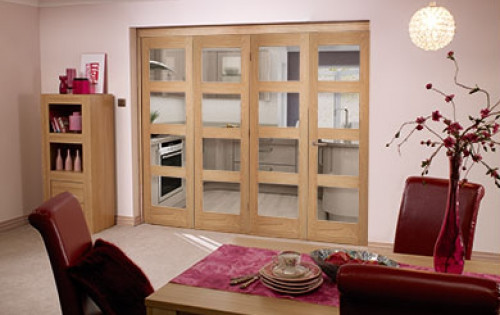 Oak 4l Roomfold - Clear Unfinished