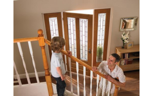 Oak Door Frames - Exterior