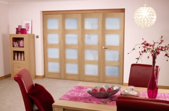 Oak Prefinished 4l Interior Bifold Door (4 X 2'0