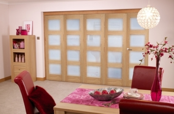 Oak Prefinished 4l Interior Bifold Door (5 X 2'3