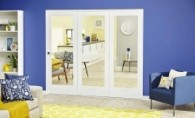 White P10 Roomfold Deluxe (1800mm - 6ft) Set Image