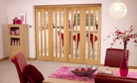 Aston Oak - 4 Door Roomfold (4 X 2