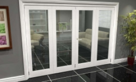 White P10 Roomfold Grande (2 + 2 X 686mm Doors) Image