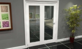 White P10 Roomfold Grande (2 + 0 X 686mm Doors) Image