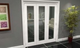 White P10 Roomfold Grande (2 + 1 X 533mm Doors) Image