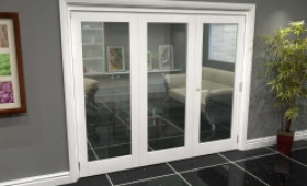 White P10 Roomfold Grande (2 + 1 X 762mm Doors) Image