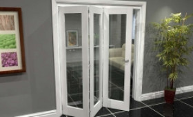 White P10 Roomfold Grande (3 + 0 X 610mm Doors) Image