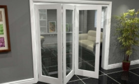 White P10 Roomfold Grande (3 + 0 X 686mm Doors) Image