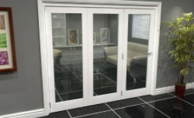 White P10 Roomfold Grande (3 + 0 X 762mm Doors) Image