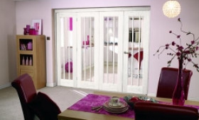 "Lincoln 4 Door Roomfold ( 4 X 24"" Doors) Image"