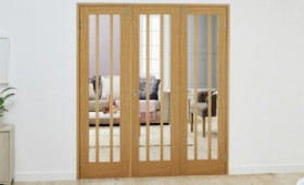 Lincoln Oak - 3 Door Frenchfold (3 X 610mm Doors ) Image