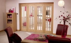 Lincoln Unfinished Oak Bifold Door Range Image