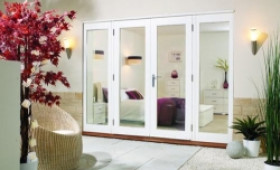 LPD Nuvu 3000mm (10ft)  - 1800mm Patio Doors + 2 X 600mm Sidelights Image