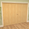 Mexicano Oak 4 Door Roomfold Grande (2 + 2 x 762mm Doors) Image