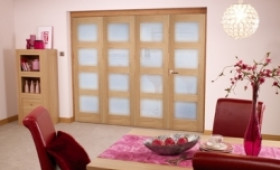 Oak Prefinished 4l Interior Bifold Door (4 X 2
