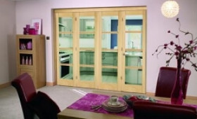 Oslo Prefinished Oak Bifold Door Range Image