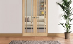 W4 Lincoln Oak Internal Room Divider Image