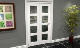 White 4l Roomfold Grande (2 + 0 X 573mm Doors) Image