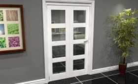 White 4l Roomfold Grande (2 + 0 X 610mm Doors) Image