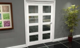 White 4l Roomfold Grande (2 + 0 X 686mm Doors) Image