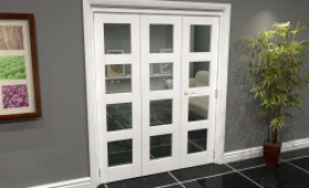 White 4l Roomfold Grande (2 + 1 X 533mm Doors) Image