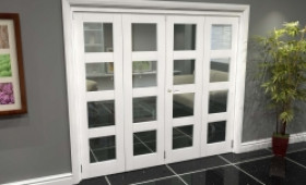 White 4l Roomfold Grande (2 + 2 X 533mm Doors) Image