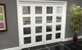White 4l Roomfold Grande (2 + 2 X 610mm Doors) Image