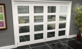 White 4l Roomfold Grande (2 + 2 X 686mm Doors) Image
