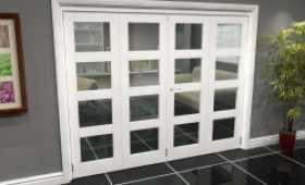 White 4l Roomfold Grande (2 + 2 X 762mm Doors) Image