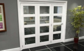 White 4l Roomfold Grande (3 + 0 X 686mm Doors) Image