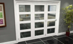 White 4l Roomfold Grande (3 + 0 X 762mm Doors) Image