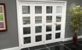 White 4l Roomfold Grande (3 + 1 X 533mm Doors) Image