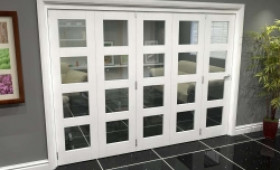 White 4l Roomfold Grande (5 + 0 X 533mm Doors) Image