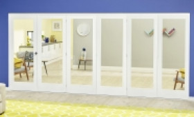 White P10 Roomfold Deluxe ( 5 + 1 X 610mm Doors ) Image
