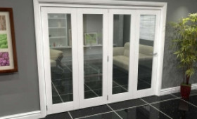 White P10 Roomfold Grande (4 + 0 X 610mm Doors) Image