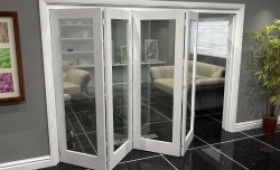 White P10 Roomfold Grande (4 + 0 X 762mm Doors) Image