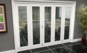 White P10 Roomfold Grande (4 + 1 X 533mm Doors) Image