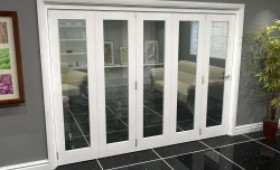 White P10 Roomfold Grande (5 + 0 X 610mm Doors) Image