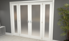 White Primed Frosted P10 Room Divider Range Image