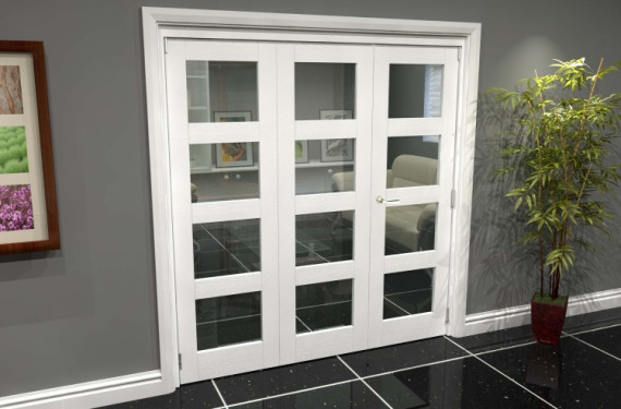 White 4l Roomfold Grande (2 + 1 X 686mm Doors)